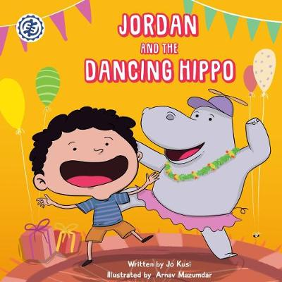 Jordan and the Dancing Hippo: Rhyming Picture Book for Beginners and Early Readers (Paperback)