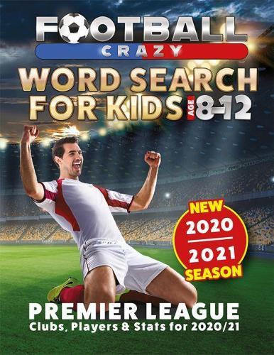 Football Crazy Word Search For Kids (Paperback)