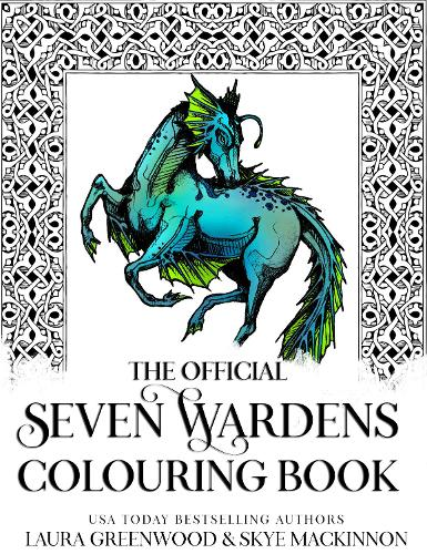 The Official Seven Wardens Colouring Book (Paperback)