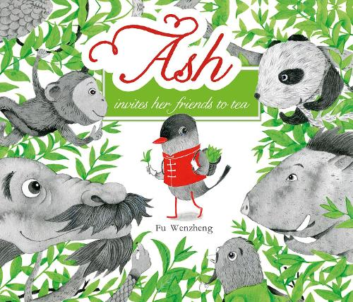 Ash Invites Her Friends to Tea (Paperback)