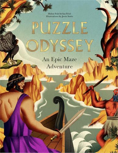 Puzzle Odyssey: An Epic Maze Adventure (Hardback)