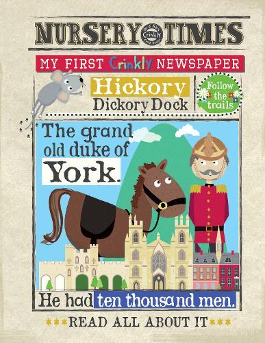 NEWS DUKE OF YORK: my first crinkly newspaper - NURSERY TIMES (Paperback)