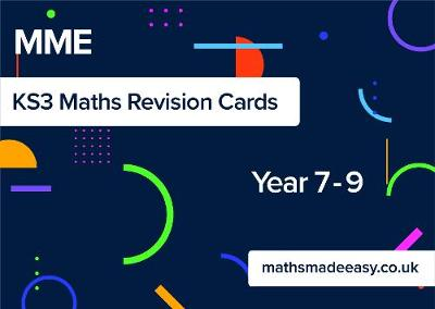 Maths Made Easy KS3 Maths Revision Cards (Paperback)