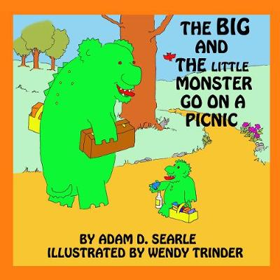 The Big And The Little Monster Go On A Picnic (Paperback)