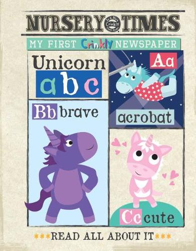 dogs MY FIRST CRINKLY NEWSPAPER: READ ALL ABOUT IT - NURSERY TIMES 12 (Paperback)