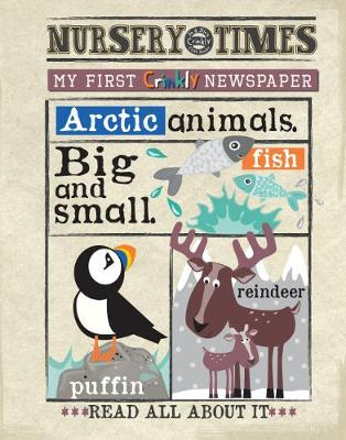 Arctic MY FIRST CRINKLY NEWSPAPER: Read All About It - NURSERY TIMES 15 (Paperback)