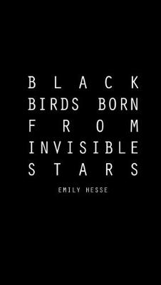 Black Birds Born from Invisible Stars (Paperback)