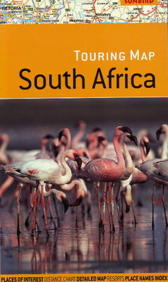 Touring Map of South Africa (Paperback)