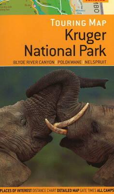 Touring Map of Kruger National Park: Blyde River Canyon, Polokwane & Nelspruit (Sheet map, folded)