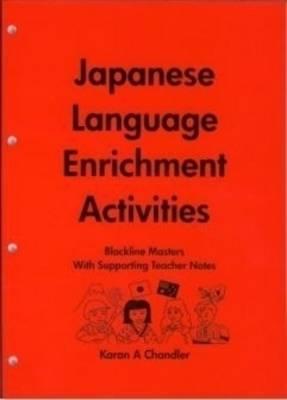 Japanese Language Enrichment Activities by Karan Chandler | Waterstones