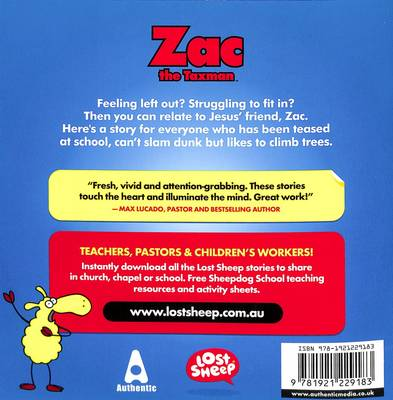 Zac, The Taxman - Lost Sheep Series 06 (Paperback)