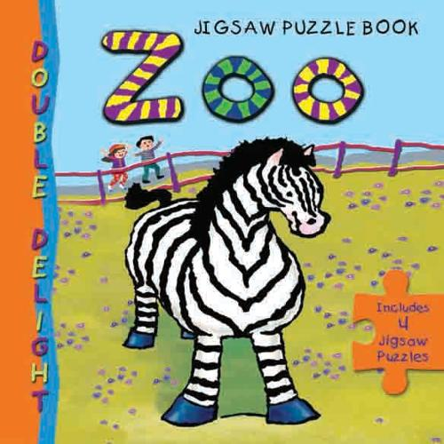 Zoo Animals Jigsaw Book: Little Hare Books - Double Delight (Board book)