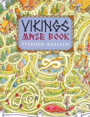 Viking Maze And Puzzle Book (Paperback)