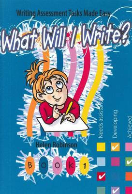 What Will I Write (Paperback)
