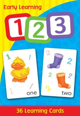 Early Learning Cards - 123