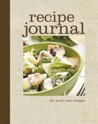 Recipe Journal (Spiral bound)