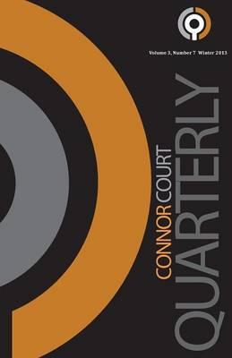 Connor Court Quarterly - Winter 2013 (Paperback)
