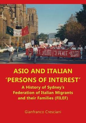 Asio and Italian ' Persons of Interest' (Paperback)