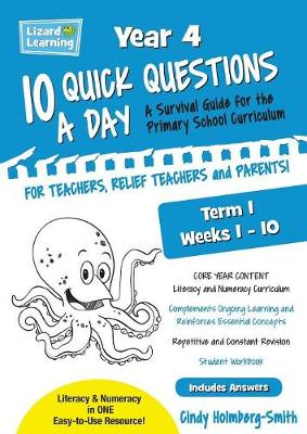 10 Quick Questions a Day Year 4 Term 1 (Paperback)