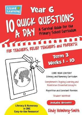 10 Quick Questions a Day Year 6 Term 3 (Paperback)