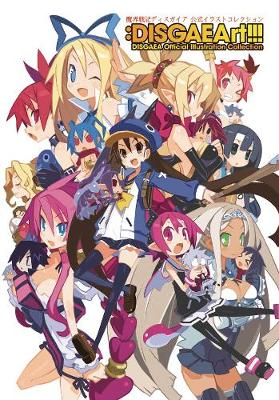 DISGAEArt!!! Disgaea Official Illustration Collection (Paperback)