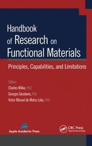 Handbook of Research on Functional Materials: Principles, Capabilities and Limitations (Hardback)