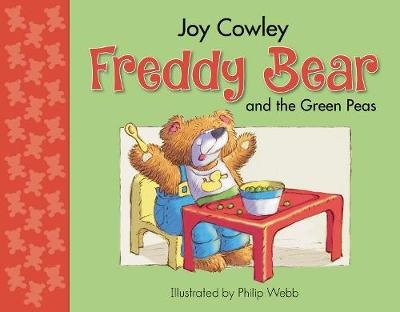 Freddy Bear and the Green Peas - Freddy bear 2 (Board book)