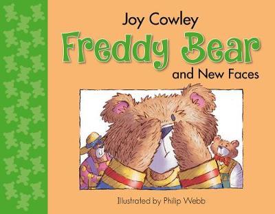 Freddy Bear and New Faces - Freddy Bear 4 (Board book)
