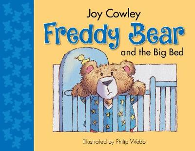 Freddy Bear and the Big Bed (Board book)