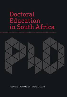 Doctoral education in South Africa (Paperback)