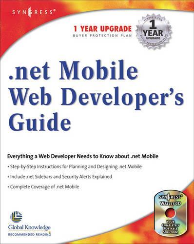 .NET Mobile Web Developers Guide - .Net Developers Series (Paperback)