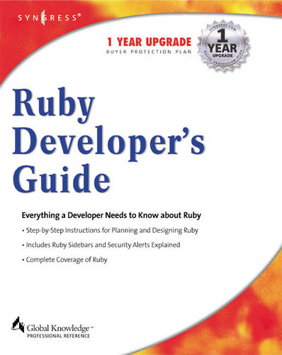 Ruby Developers Guide (Paperback)