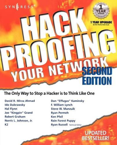Hack Proofing Your Network (Paperback)