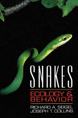 Snakes: Ecology and Behavior (Paperback)