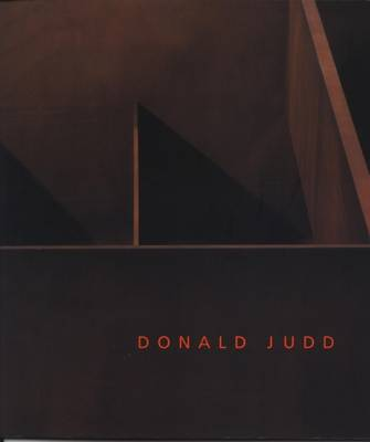 Donald Judd 2004: Large Scale Works (Paperback)
