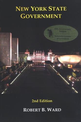 New York State Government: 2nd Edition - Rockefeller Institute Press (Hardback)