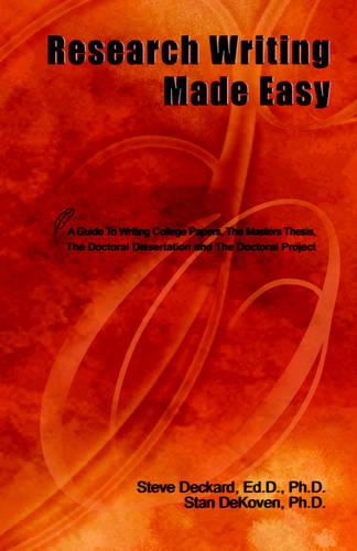 Research Writing Made Easy (Paperback)