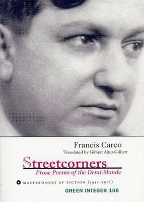 Streetcorners: Prose Poems of the Demi-Monde (Paperback)