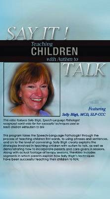 Say It!: Teaching Children with Autism to Talk (DVD)