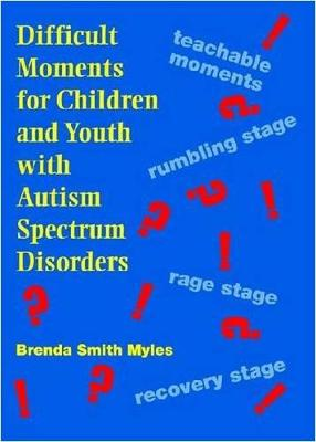 Difficult Moments for Children and Youth with Autism Spectrum Disorders (DVD video)