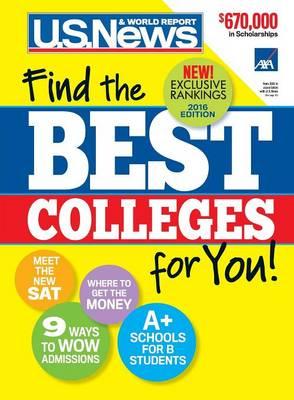 Best Colleges 2016 (Paperback)