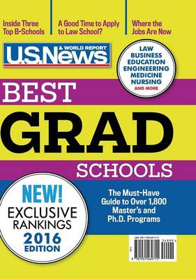 Best Graduate Schools 2016 (Hardback)