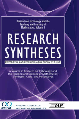 Research on Technology and the Teaching and Learning of Mathematics: Volume. 1: Research Syntheses (Hardback)