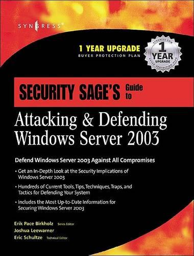 Security Sage's Guide to Attacking and Defending Windows Server (Hardback)