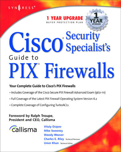Cisco Security Specialists Guide to PIX Firewall (Paperback)
