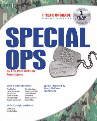 Special Ops: Host and Network Security for Microsoft Unix and Oracle (Paperback)
