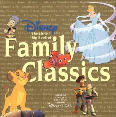 Disney the Little Big Book of Family Classics - Little Big Book (Hardback)