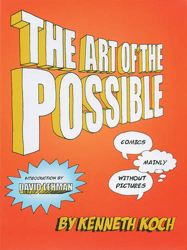 The Art of the Possible: Comics, Mainly Without Pictures (Hardback)