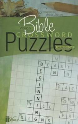 Vision Bible Crossword Puzzles: Number One (Paperback)