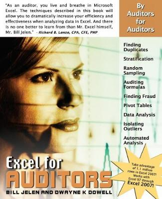 Excel for Auditors: Audit Spreadsheets Using Excel 97 through Excel 2007 (Paperback)